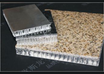 China Fireproof interior wall Aluminum Honeycomb Panel , Aluminium Architectural Tiles Tegular supplier