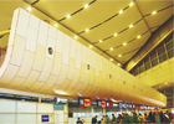 Building facades material Aluminium Honeycomb Panel windproof for museum opera house