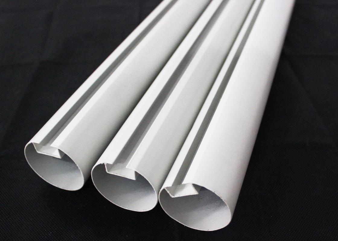 Aluminum Round Tube Kitchen Ceiling Tiles Suspended Metal