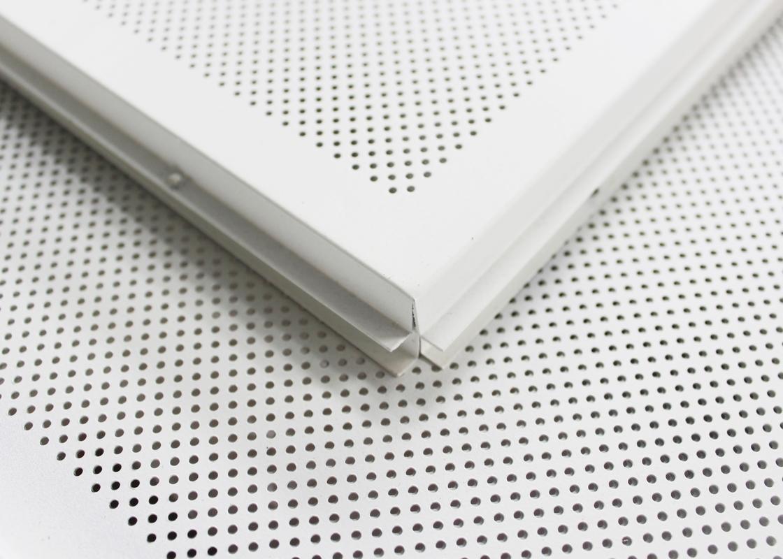 Perforierte lage in verschobenen decken fliesen des metall1200 x 600 bedecken f r b rogeb ude - Decken fliesen ...