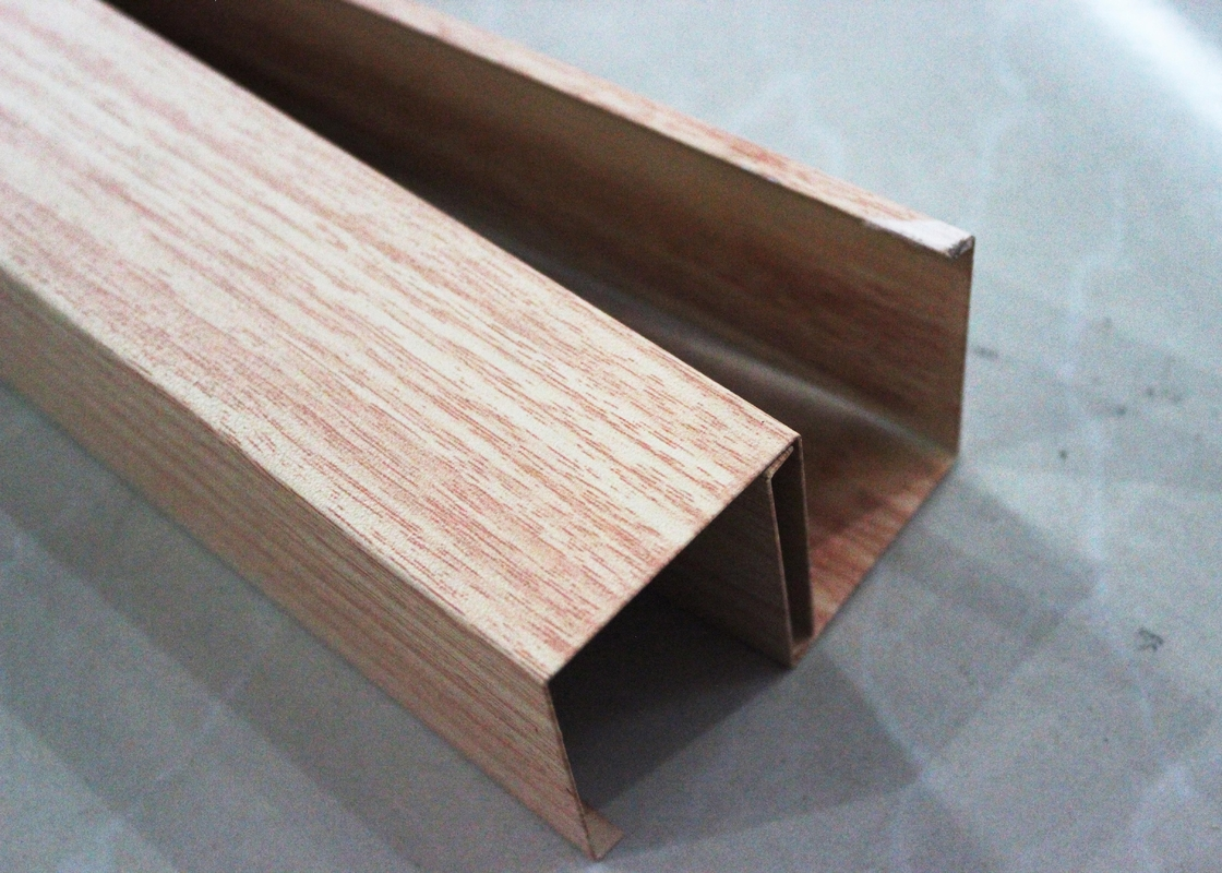 False Exterior Metal Ceiling Panels U Aluminum Ceiling Gb T28001 2011