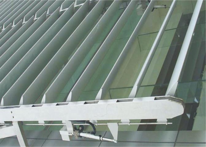 Pvdf Coating Metal Aluminum Sunshade System Rhombus
