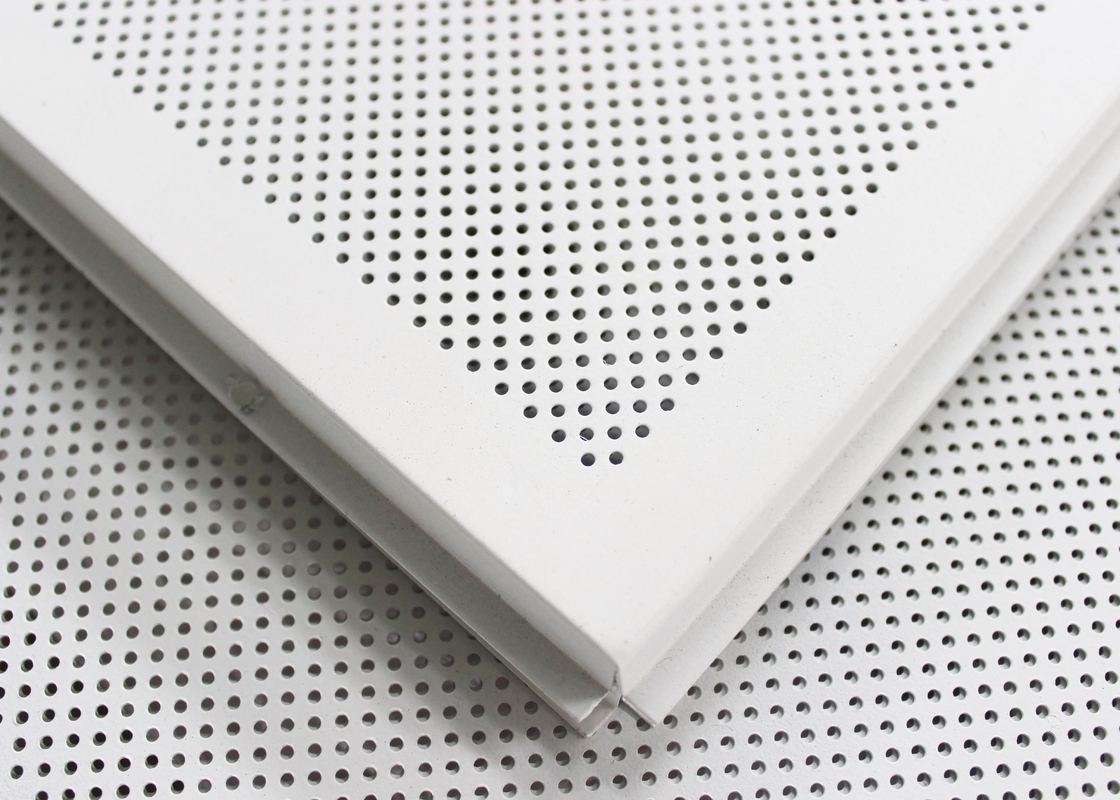 Suspended Acoustic Ceiling Tiles Aluminum Expanded Metal Ceiling