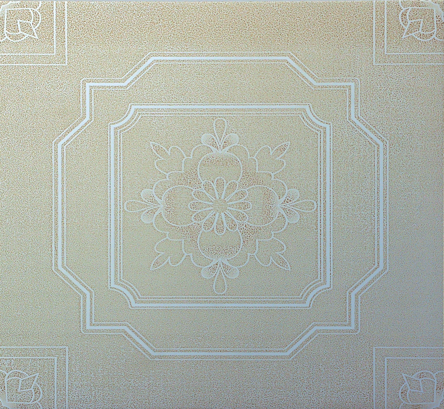 Aluminum Interior Tegular Ceiling Tiles Square With Straight Edge