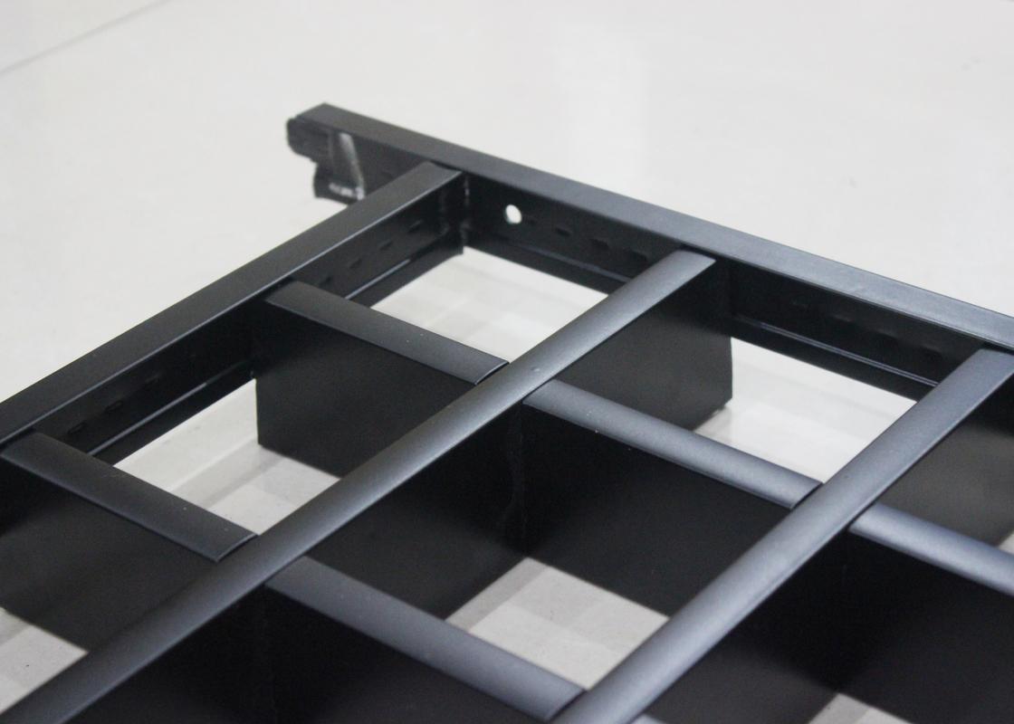 Tuiles De Plafond De Grille En M 233 Tal De Barre De L