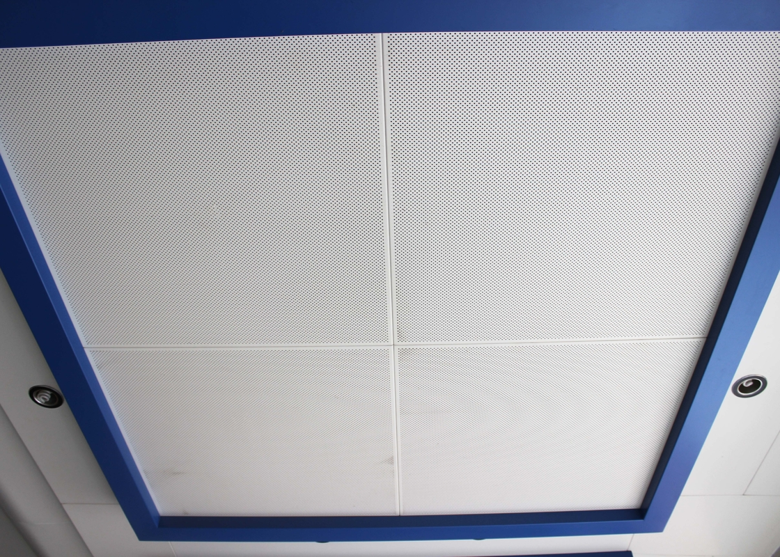 Dia 23 Diagonal Metal Ceiling Panel 800 X 800 Square Clip In