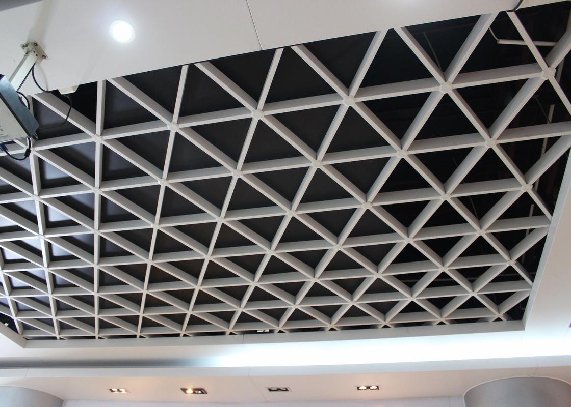 Plafond Large En M 233 Tal De Grille De Suspension Tuiles