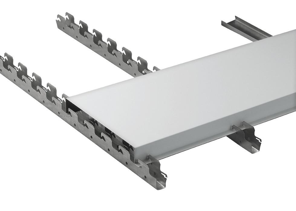 Suspended Kitchen Aluminium Strip Metal Ceiling