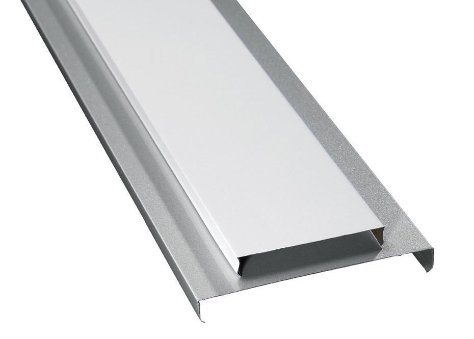 plafond en aluminium d coratif u 15 u 85 transporteur en acier galvanis de bande d 39 u 135 chanel. Black Bedroom Furniture Sets. Home Design Ideas