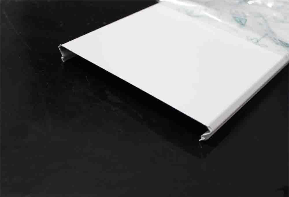 C Shaped Aluminium Strip Ceiling Linear Suspended Aluminum