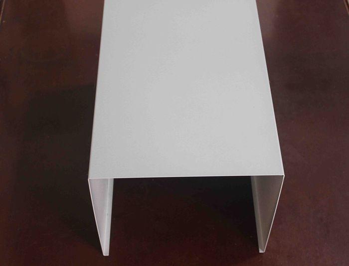 grand plafond d 39 cran de profil d 39 u aluminium pour tablir. Black Bedroom Furniture Sets. Home Design Ideas
