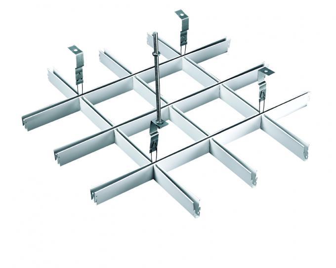 wide suspension grid metal ceiling grille open cell ceiling tiles. Black Bedroom Furniture Sets. Home Design Ideas